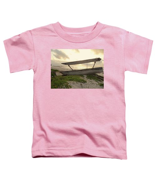 Sun Rays And Wooden Dhows Toddler T-Shirt