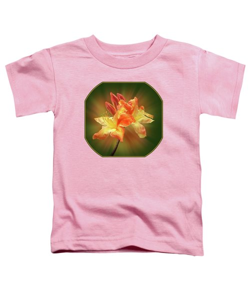 Sunburst Orange Azalea Toddler T-Shirt
