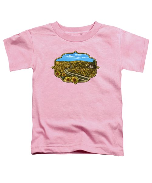 Sunflower Road Toddler T-Shirt