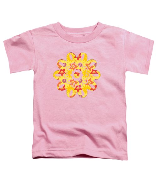 Sunny Flowers Toddler T-Shirt