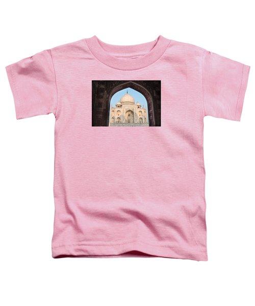Sunrise Arches Of The Taj Mahal Toddler T-Shirt