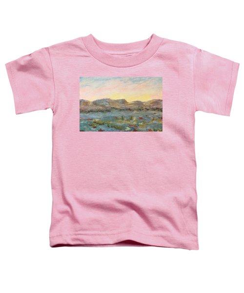 Sunrise At The Pond Toddler T-Shirt