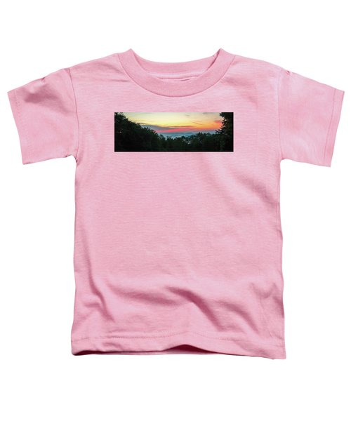 Sunrise From Maggie Valley August 16 2015 Toddler T-Shirt