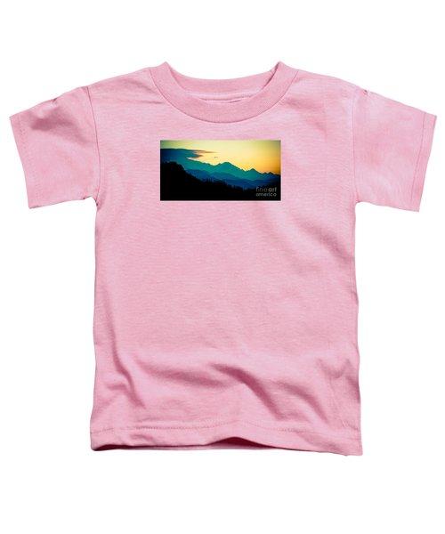 Sunrise In Himalayas Annapurna Yatra Himalayas Mountain Nepal Poon Hill Toddler T-Shirt