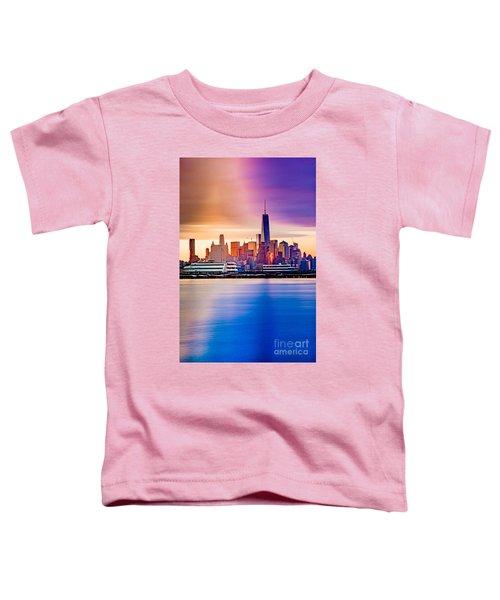 Sunrise On Freedom Toddler T-Shirt