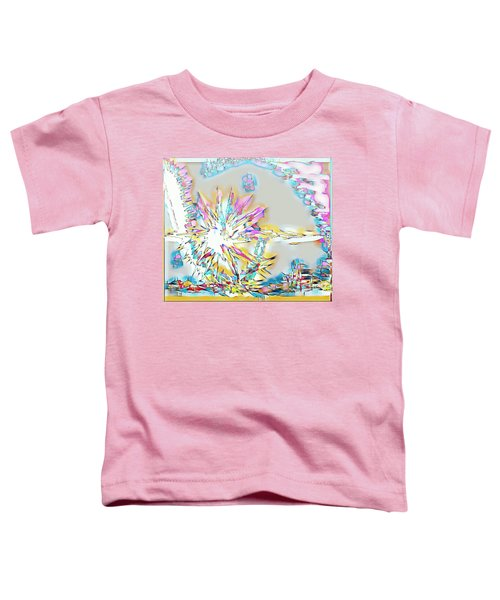 Sunrise Over The City Toddler T-Shirt