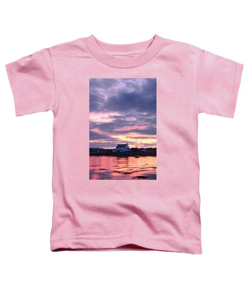 Sunset At Clachnaharry Toddler T-Shirt