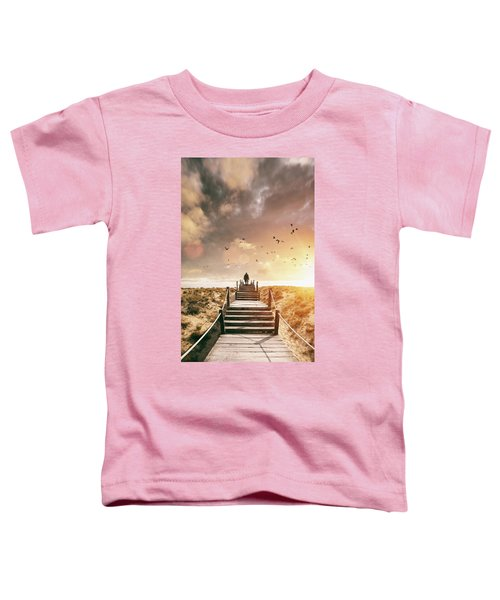 Sunset Boardwalk Toddler T-Shirt