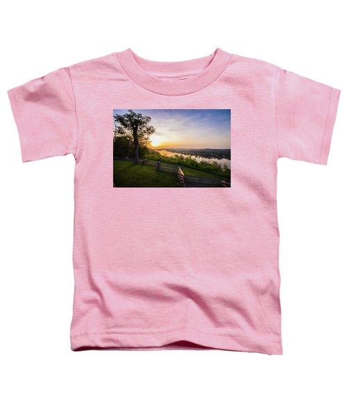 Sunset From Boreman Park Toddler T-Shirt