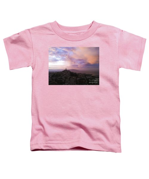 Sunset On The Bay Toddler T-Shirt