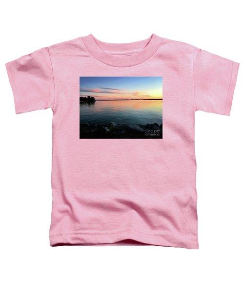 Sunset Sky Toddler T-Shirt