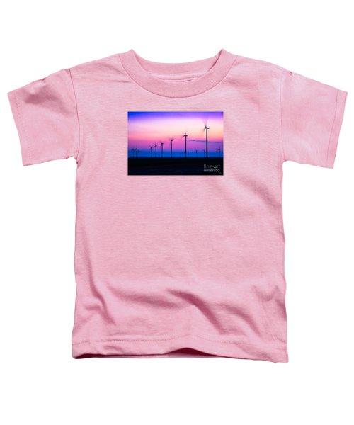Sunset Spinning Toddler T-Shirt