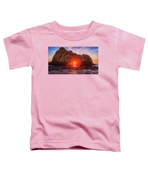 Sunset Through  Toddler T-Shirt