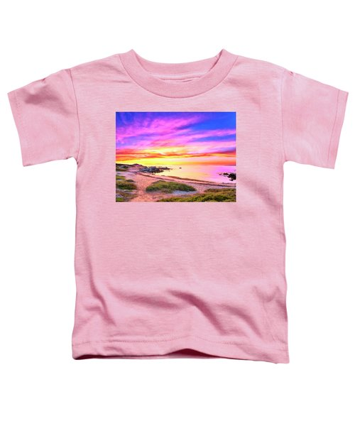 Sunset Walk 2 Toddler T-Shirt