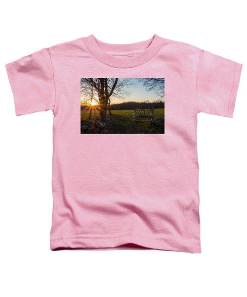 Sunset Watch Toddler T-Shirt