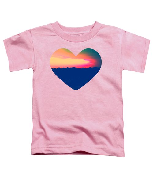 Sunshine In My Heart Toddler T-Shirt