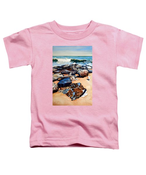 Surf On The Jetty Toddler T-Shirt