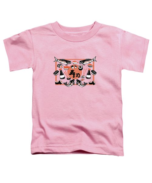 Sushi And Soy Sauce Toddler T-Shirt