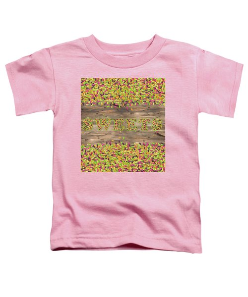 Sweets Toddler T-Shirt by La Reve Design