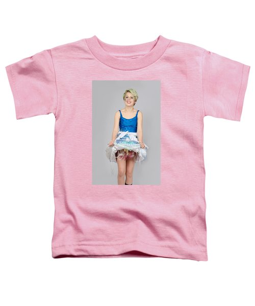 Taetyn In Jelly Fish Dress Toddler T-Shirt