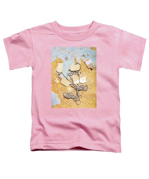 Tags Of War Toddler T-Shirt