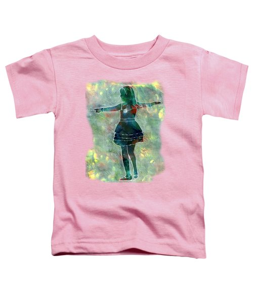 Tap Dancer 2 - Green Toddler T-Shirt