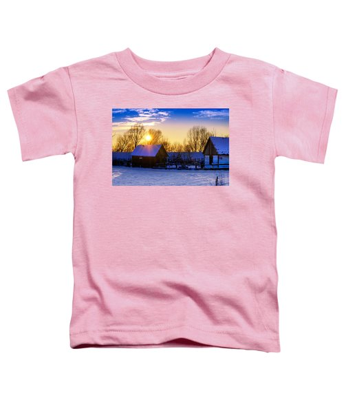 Tarchomin Sunset Toddler T-Shirt
