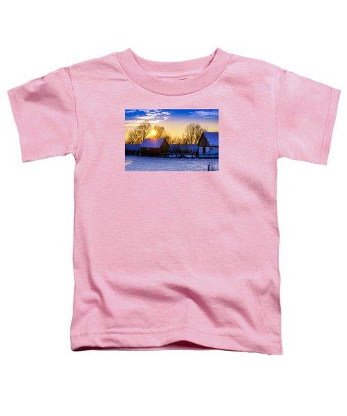 Tarchomin Sunset Toddler T-Shirt