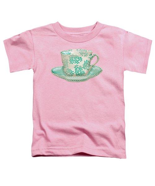 Teacup Garden Party 1 Toddler T-Shirt