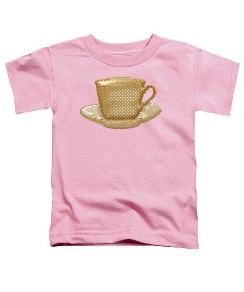 Teacup Garden Party 3 Toddler T-Shirt