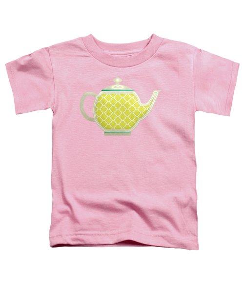 Teapot Garden Party 2 Toddler T-Shirt
