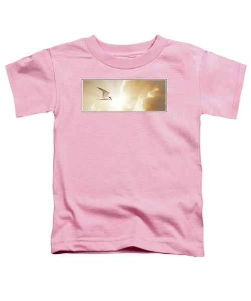 Tern In Flight, Spiritual Light Of Dusk Toddler T-Shirt