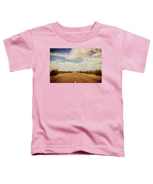 Texas Highway Toddler T-Shirt