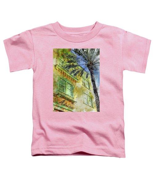 The Adrian Hotel South Beach Toddler T-Shirt by Jon Neidert