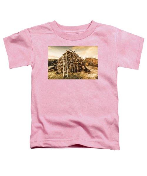 The Art Of Bonfires Toddler T-Shirt