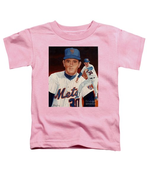 From The Mets To The Rangers Toddler T-Shirt