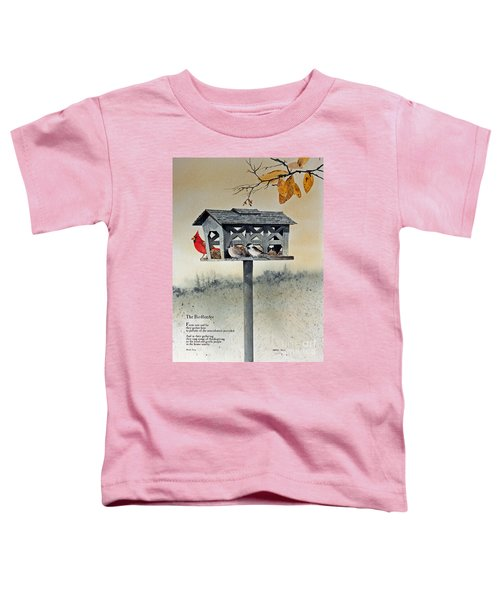 The Birdfeeder Toddler T-Shirt