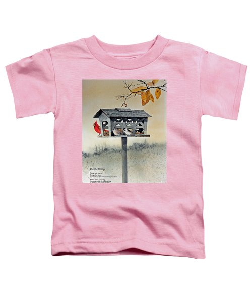 The Birdfeeder Toddler T-Shirt