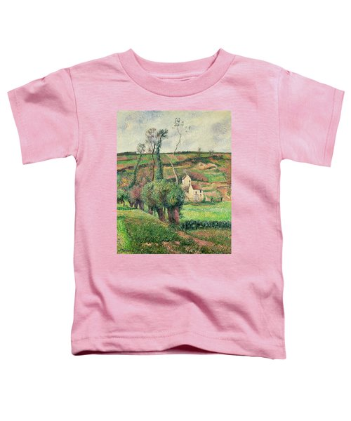 The Cabbage Slopes Toddler T-Shirt by Camille Pissarro