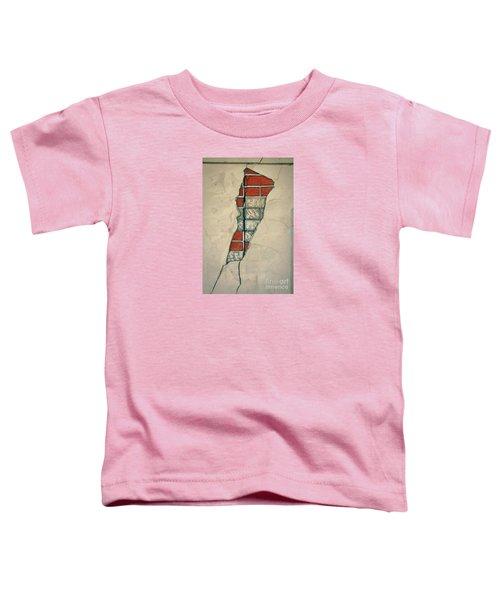 The Cracked Wall Toddler T-Shirt by Nareeta Martin
