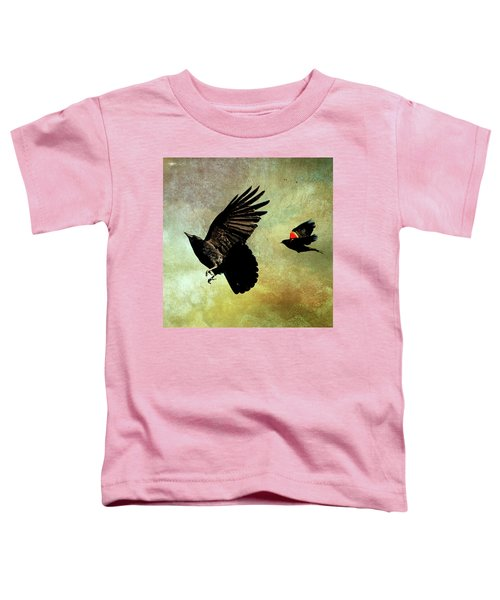 The Crow And The Blackbird Toddler T-Shirt