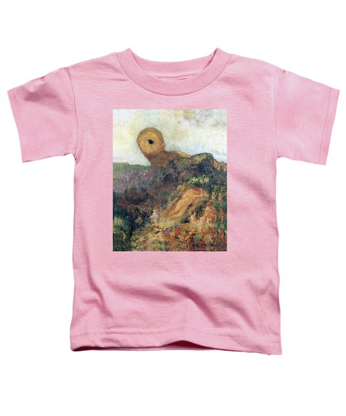 The Cyclops Toddler T-Shirt by Odilon Redon