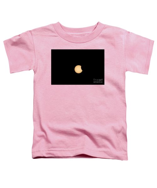 The Eclipse Begins Toddler T-Shirt