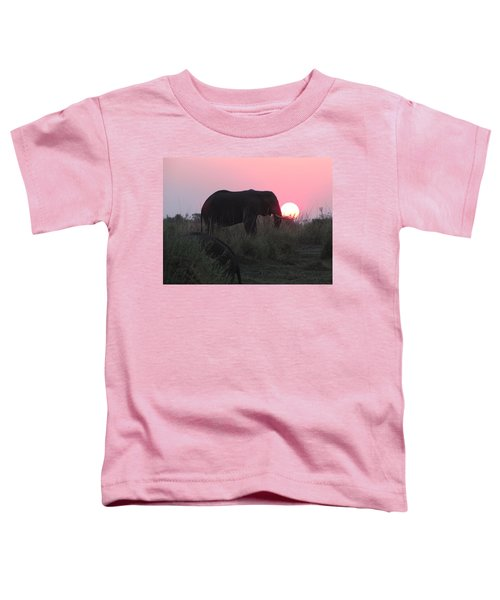 The Elephant And The Sun Toddler T-Shirt
