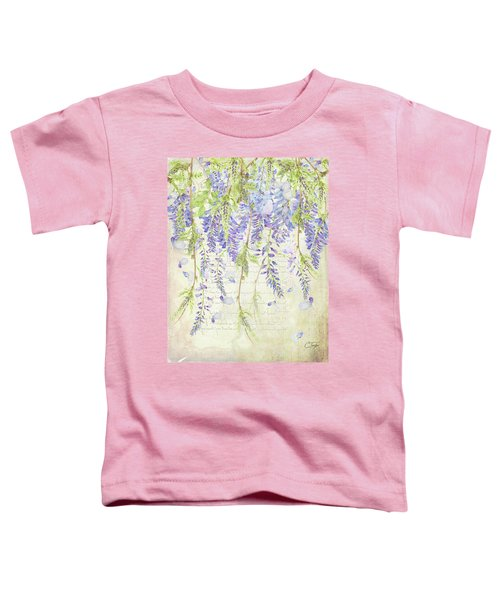 The Ethereal Wisteria Toddler T-Shirt