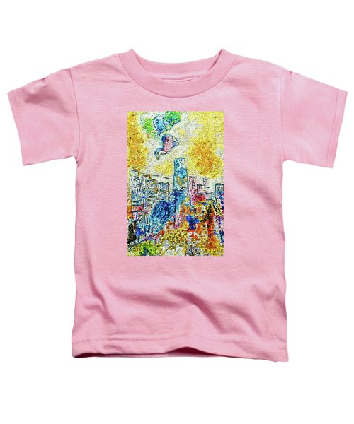 The Four Seasons Chicago Portrait Toddler T-Shirt