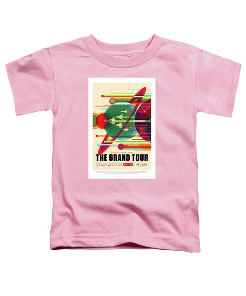 The Grand Tour - Nasa Vintage Poster Toddler T-Shirt
