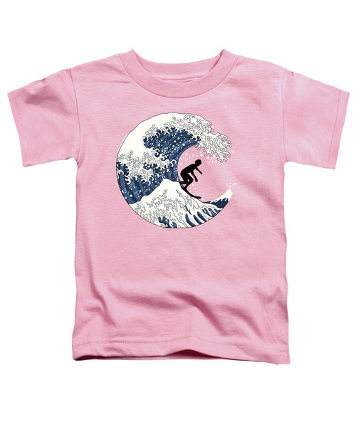 The Great Surfer Off Kanagawa Toddler T-Shirt