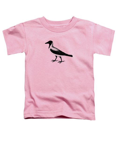 The Hooded Crow Toddler T-Shirt by Mark Rogan