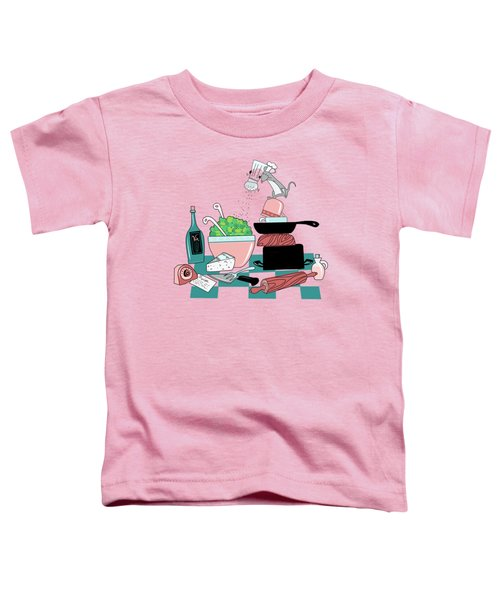 The Hungry Mouse Toddler T-Shirt by Little Bunny Sunshine